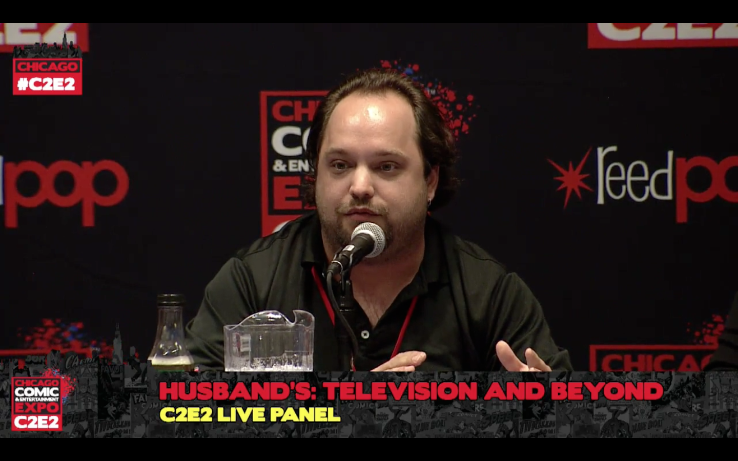 Matthew Aaron Moderates Panel at C2E2