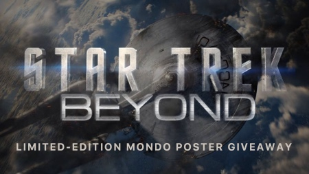 Limited Edition Star Trek Beyond Mondo Poster Giveaway
